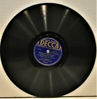"GUY LOMBARDO  ""Blues In The Night / Frankie & Johnny""  78 RPM  Decca 4177"