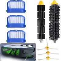 Replacement Brush Filter Kit for iRobot Roomba Aerovac 600 Series 620 630 650