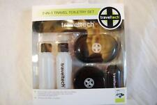 Traveltech 9007 7 In 1 Travel Toiletry Set TSA Compliant New W/Box