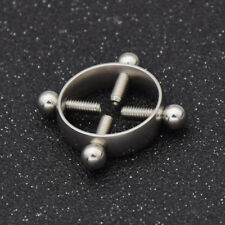 Surgical Steel Nipple Shield Rings Sexy Non Piercing Body Jewelry For Women