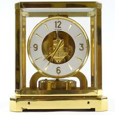 Jaeger Le-Coultre ATMOS II Classique Gold Plated Constant Motion Table Clock