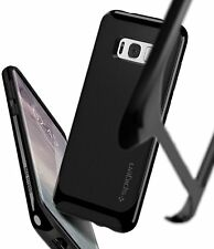 Galaxy S8 Custodia Spigen Neo Ibrida Cover - Nero lucido