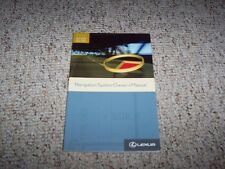 2007 Lexus GS350 GS430 GS 350 430 Navigation System Owner User Manual Guide Book