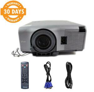 NEC VT440K 3LCD Projector HD 1080i Accessories TeKswamp bundle