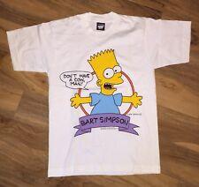 VTG Deadstock 1990 THE SIMPSONS Bart XL Shirt THIN FREE S&H Screen Stars