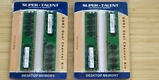 SuperTalent 2GB (4x 512MB kit) DDR2-533 RAM