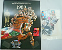Sealed 1988 Mint Set Commemorative USPS Yearbook Album with Stamps Free Shipping