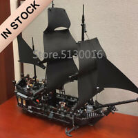 Black Pearl Pirates of the Caribbean Ship Lego 4184 Model Captain Jack Sparrow !