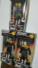 Star Trek Movie Edition Collector Series Action Figures Lot of 3