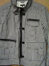 Jacket  J.CREW  Spring  Black & White  Jacket Fully Lined Size 8   NEW
