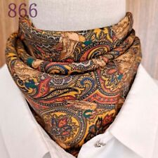 Sale New Mens Women Pure Genuine Mulberry Silk Satin Square Scarves Gift 65cm 66