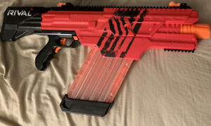 NERF Rival Khaos Mxvi-4000 Blaster Red Team blaster, No Ammo
