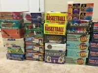 LOT of 200 UNOPENED BASKETBALL CARDS in PACKS Jordan HUGE Bonus PLEASE Read
