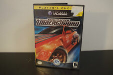Need for Speed: Underground  (Nintendo GameCube, 2003) *Tested