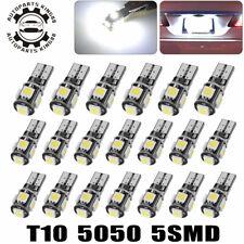20x LED Canbus Error Free T10 5050 Interior Light Bulbs 168 192 194 2825 White