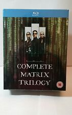 The Complete Matrix Trilogy(Blu-ray Disc,2008,3-DiscSet)NEW-Free S&H-REGION FREE
