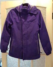REGATTA Girls-Ladies Purple Fleece Lined Waterproof-Hydrafort Size 34 / EUR 176