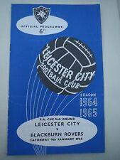 Leicester City V Blackburn FA Cup 1964/5  2