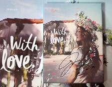 Jessica Jung Soo Yeon Autographed 2016 SOLO With Love, J album CD  korean 052016