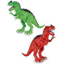 Dinosauro Gigante Maxi 30 Cm Cammina Luci E Suoni Vari Colori Grandi Giochi
