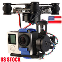 3-Axis Brushless Gimbal Camera Mount & 32bit Storm32 Controller Gopro 3 4 FPV US