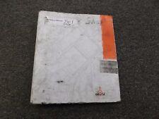 Deutz 2011 Series Diesel Engine Tier 1 Shop Service Repair Manual Binder