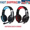 KOTION EACH G2000 LED Gaming Headset Mic Headphones Stereo Bass for PC PS4 B2E5