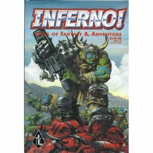 Inferno! Tales of Fantasy Adventure Issue #7 Graphic Novel Comic 1998 Warhammer