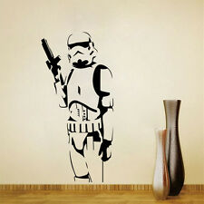 LARGE STORM TROOPER STAR WARS WALL ART MURAL STICKER REMOVABLE DECAL HOME DECOR