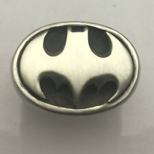 MJG STERLING SILVER BATMAN DARK KNIGHT RING. COMIC CON. JUSTICE LEAGUE. S10