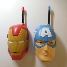 2 walkies talkies IMC TOYS SPAIN MARVEL jouet collection MOD 390218 N5508