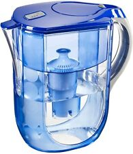 Brita Grand Water Filter Pitcher, Blue Bubbles, 10 Cup