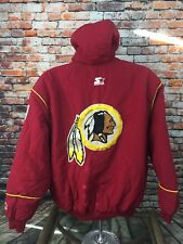 VTG Starter New Haven CT Made in USA Women's Washington Redskins Jacket Large