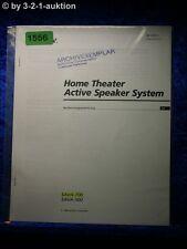 Sony Bedienungsanleitung SAVA 700 / 500 Active Speaker System (#1556)