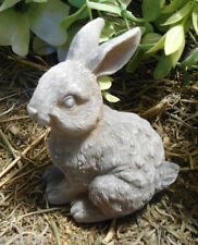 Latex only bunny rabbit  tail up mold plaster concrete casting garden mould