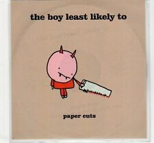 (EC447) The Boy Least Likely To, Paper Cuts - 2005 DJ CD