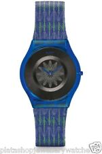Swatch Watch For The Love of Patterns Skin Collection 2014 Breezy Feather SFS102