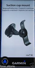 OEM Genuine Garmin Nuvi 50 50LM GPS Suction Cup & Cradle/Clip&disc Mount Kit NIB