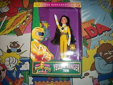 "Bandai Mighty Morphin Power Rangers for Girls 9"" Doll Yellow Trini Action Figure"