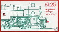 Fk6a £1.25 Tank Engine Lm Folded Booklet