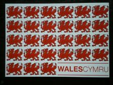 POSTCARD B45-16 RED DRAGON OF WALES OF CYMRU