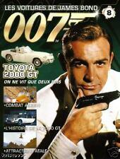 FASCICULE BOOKLET JAMES BOND 007 TOYOTA 2000 GT NEUF