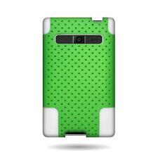 Neon Green White Mesh Layer Skin Case LG OPTIMUS LOGIC L35G L3 E400 DYNAMIC L38C