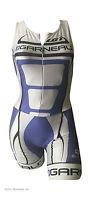 new S Louis Garneau women's Elite Pro skinsuit triathlon tri air pad Made Canada