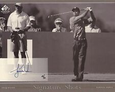 Tiger Woods 2005 sp signature golf UDA #42/50 Auto Autograph 8x10 signed shots