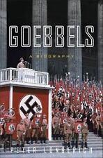 Goebbels: A Biography, Longerich, Peter, New Book