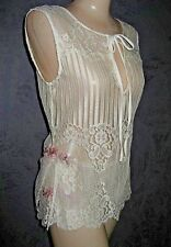 Claire Pettibone SET Cami + Short + Bridal Couture Lace TORY S NeW Rare & LOVELY