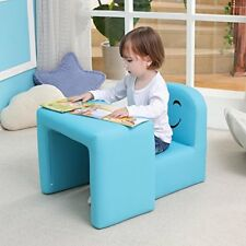 Multifunctional Children S Armchair Kids Chair and Table Set/stool With Funny SM