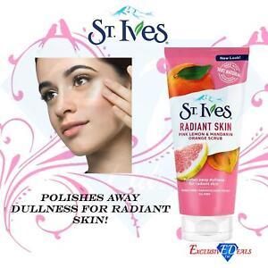 St Ives Radiant Skin Pink Lemon & Mandarin Orange Scrub 150ml - Facial Skin Care