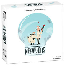 Nefarious™ The Mad Scientist Game! Age 13+